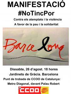 26 d´agost MANIFESTACIÓ #NoTincPor