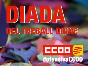 CCOO de Catalunya celebra la Diada del Treball Digne