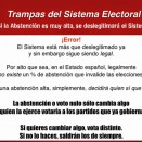 NO PODEMOS QUEDARNOS EN CASA, EL 25M TODOS/AS A VOTAR