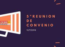 5ª Reunión de Convenio Colectivo